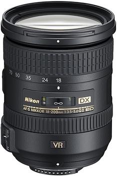 Nikon AF-S DX Nikkor 18-200mm f/3.5-5.6G ED VR II  590.00